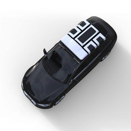 Audi S6_topview